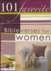 101 Favorite Bible Verses for Women, Box of Blessings