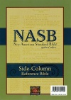 NASB Side-Column Reference Wide Margin, Black Genuine Leather