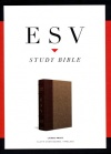 ESV Study, Large Print, Tan/Light Brown, Cloth Over Board Timeless