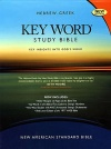 NASB - 2008 Edition, Key Word Study Bible NASB, Genuine Burgundy Leather