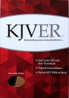 KJVer (Easy Reader) Thinline Sword Study Bible, Personal Size, Ultrasoft Black/Tan