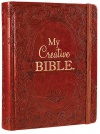 KJV My Creative Bible, Brown Ornate LuxLeather, Hardback
