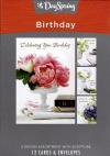 Birthday Cards - Celebrating Your Birthday (Box of 12)