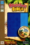 NIV Adventure Bible, Electric Blue/Ocean Blue, Duo-Tone