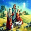 Christmas Cards - The Shepherds - Pack of 10 - CMS