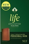 NLT Life Application Personal-Size Study Bible, Brown / Tan Leatherlike