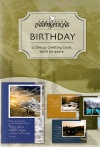 Birthday Cards - Its A Beautiful World Deluxe, Diecut Cards, Box of 12
