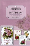 Birthday Card - Celebrating You, Box of 12