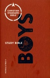CSB Study Bible for Boys, Hardback Edition