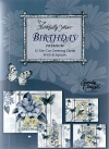 Birthday Cards - Indigo Garden, Deluxe Box of 12