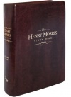 The KJV Henry Morris Study Bible, Brown Tru-Tone Leather