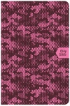 CSB On-the-Go Bible Pink Camouflage Soft Leather-Look