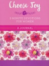 Journal - Choose Joy: 3-Minute Devotions for Women