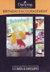 Birthday & Encouragement Cards (Box of 12)