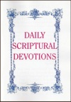 Daily Scriptural Devotions, Large Print , KJV (Classic Booklet) CBS