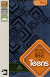 KJV - Bible for Teens, Italian Duo-Tone, Slate Blue