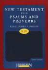 KJV New Testament with Psalms & Proverbs - Blue Flexisoft
