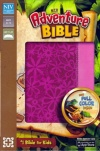 NIV - Adventure Bible, Duo-Tone, Raspberry/Pink