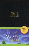 NIV - Gift & Award Bible, Black, Leather-Look - GAB