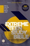 NKJV - Extreme Teen Study Bible, Charcoal