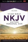 NKJV - Full Color, Study Bible Personal Size Hardback Edition