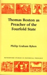 Thomas Boston as the Preacher of the Fourfold State - PTS