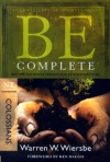 Be Complete - Colossians - WBS