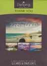 Thank You Cards - God is Good Scenic  (Box of 12)