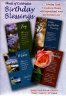 Birthday Cards - Birthday Blessing with Scripture Text (box of 12)