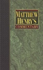 Matthew Henry Commentary (6 vols)
