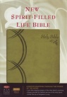 NKJV New Spirit Filled Life Bible for Women - Leathersoft Green