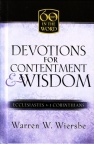 Devotions for Contentment & Wisdom - 60 Days in the Word