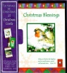 Christmas Cards - Christmas Blessings  Robin - Box of 15 - CMS