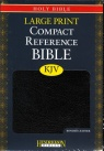 KJV Large Print Compact Reference Bible - Bonded Leather