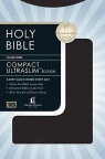 KJV Compact Ultraslim Bible - Black LeatherSoft Grain