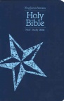 KJV - Kids Study Bible Galaxy Blue Leather look