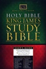 KJV Study Bible - Bonded Leather - Burgundy