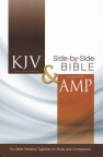 KJV and Amplified Side-by-Side Parellel Bible