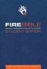 NIV Fire Bible Student Edition