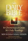 NIV Daily Bible, In Chronological Order, Paperback